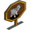 Gray Jersey Cow Mastery Sign-icon