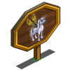 Dragonfly Unicorn Mastery Sign-icon