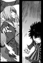 Fiamma vs Touma