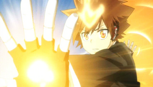 Tsuna In Funny Sunny Day