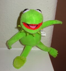 Disney plush kermit magnet