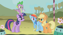 Rainbow Dash funny face S1E13