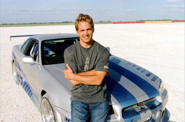 Rip Paul Walker Top Best Fast And The Furious Film: Nissan Skyline, Paul Walker