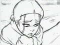 Sketch of a sorrowful Katara.png