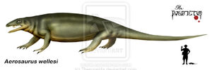 Aerosaurus wellesi by Theropsida