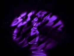Katara in a vision