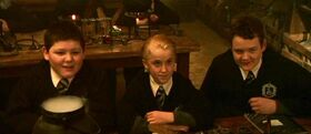 The Trio (Crabbe, Malfoy and Goyle) 1991b