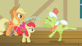 Granny Smith re-enacting herself as a filly S2E06.png