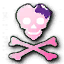 MW3 Emblem PirateSkullPink