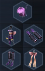 Ayane Costume Parts - DWOnline
