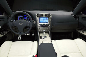 Lexus IS-F interior