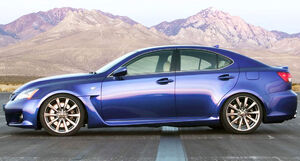 Lexus IS-F profile