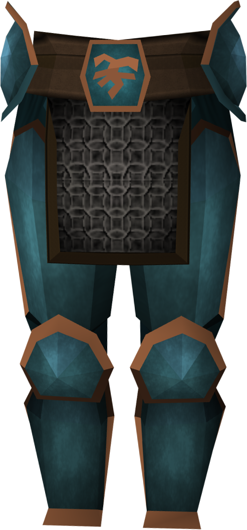 Bandos platelegs detail