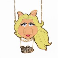 Miss PIggy pendant necklace