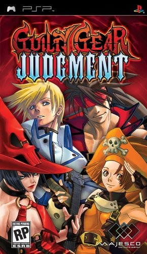 Guilty Gear Judgement Cover