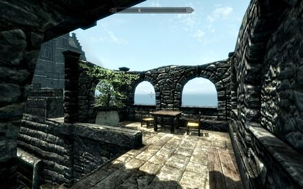 Proudspire Manor - patio