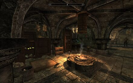 Proudspire Manor - ground level - alchemy lab