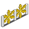 Snowflake Fence-icon