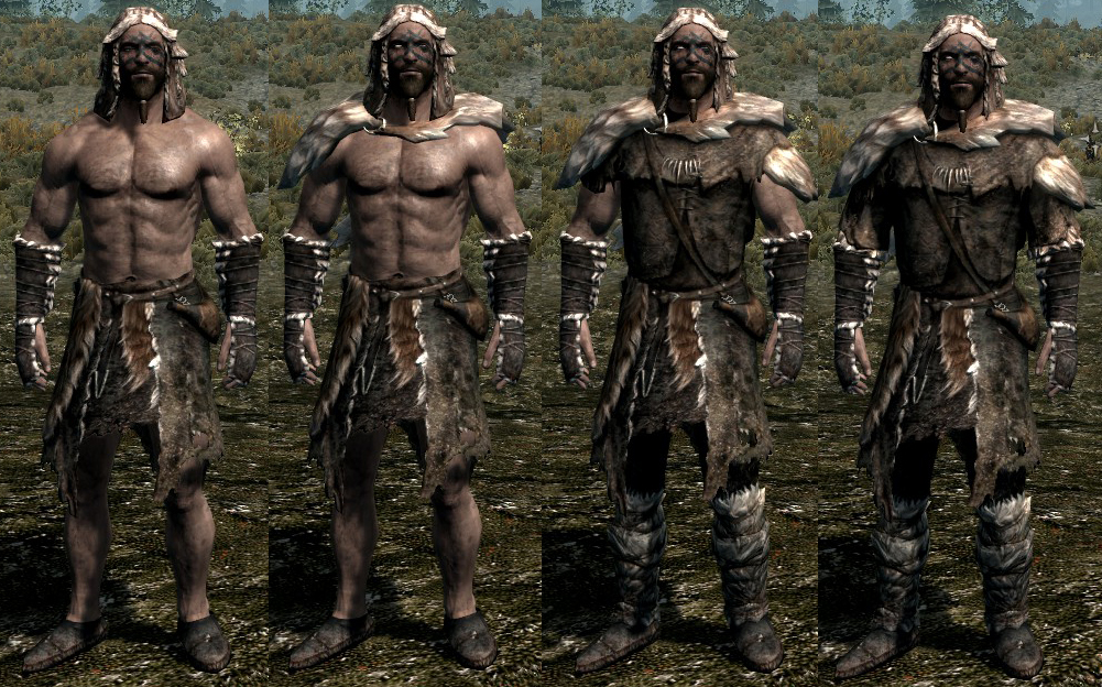 Skyrim Fur Armor