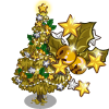 Big Golden Holiday Tree-icon