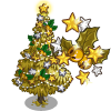 Golden Holiday Tree-icon