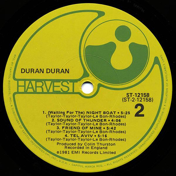 Duran Duran Us St 12158 Duran Duran Wiki