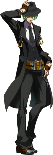 "Akuma Warai ""The Laughing Demon"" 209px-Hazama_%28Story_Mode_Artwork%2C_Normal%29"