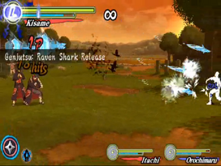 Genjutsu raven shark release