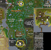 Shooting stars rgn map Morytania Mos Le&#39;Harmless