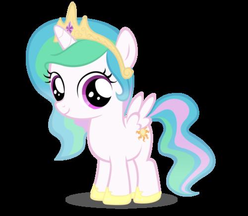 my Little Pony Filly Celestia Group of my Little Pony