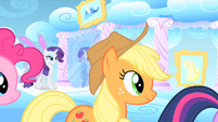 Applejack following Twilight S1E16