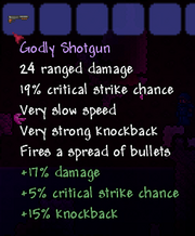 Godly shotgun