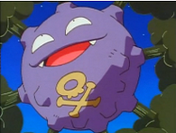 EP020 Koffing usando gas venenoso