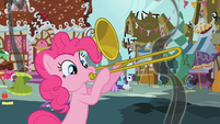 Pinkie Pie trombone outro S1E10
