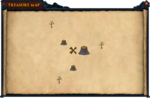 Map clue small volcanoes