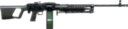 BFBC2 Type 88 LMG ICON