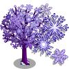 Big Snowflake II Tree-icon