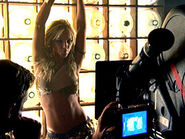 Britney Spears in The Set of Her Music Video I'm A Slave 4 U
