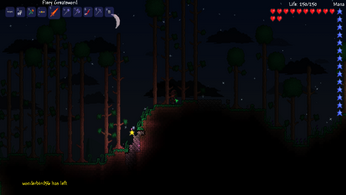 Terraria Fallen star 1.1