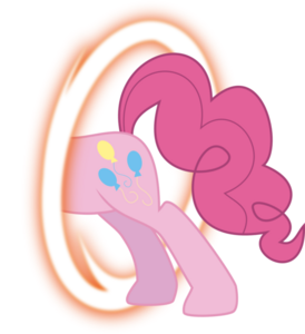 Pinkie portal back by blackgryph0n-d3f93p8