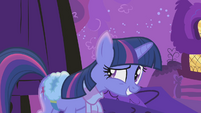Twilight Sparkle ready a little too early S1E11