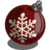 Snowflake Ornament I-icon