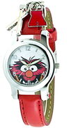 Jc penney animal red strap charm watch