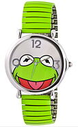 Jc penney kermit green expansion band watch