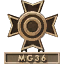 MG36 Expert Icon MW3