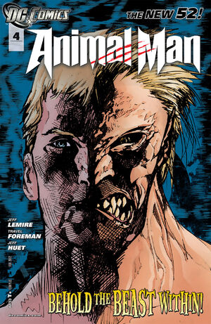 Cover for Animal Man #4