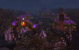 Darkmoon Fair from Entrance