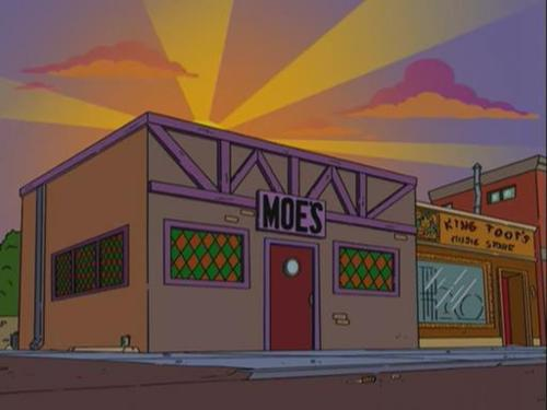 Would you go to Moe's Tavern for a drink?
