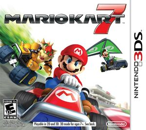 Mario Kart 7 box art