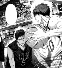 Kagami vs Aomine 1